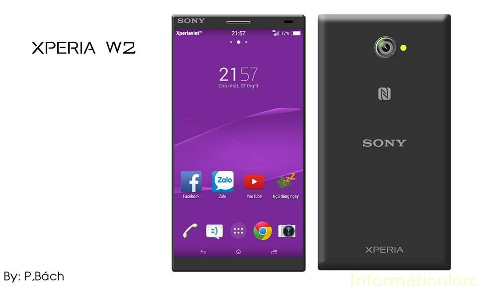 Sony Xperia W2 Black