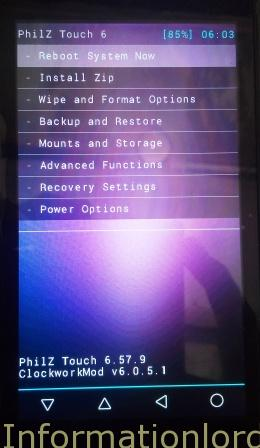 philz recovery for micromax android one