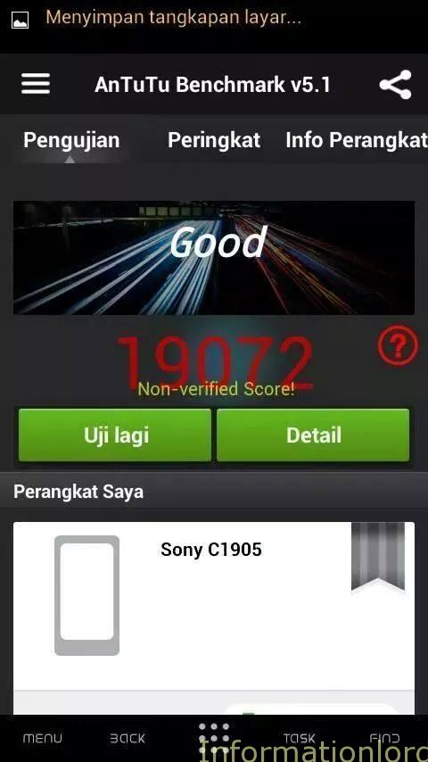 Xperia M benchmarks