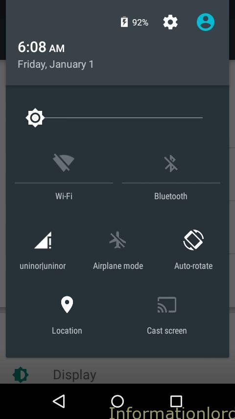 Android Lollipop Notification bar