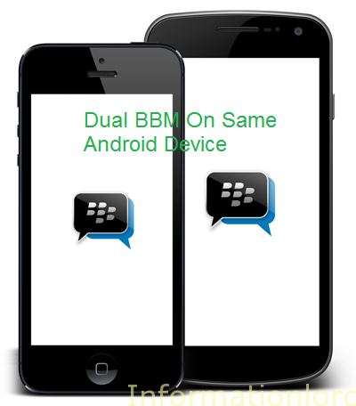 Dual BBM on Android
