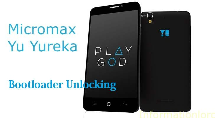 Unlock Bootloader of Micromax YU