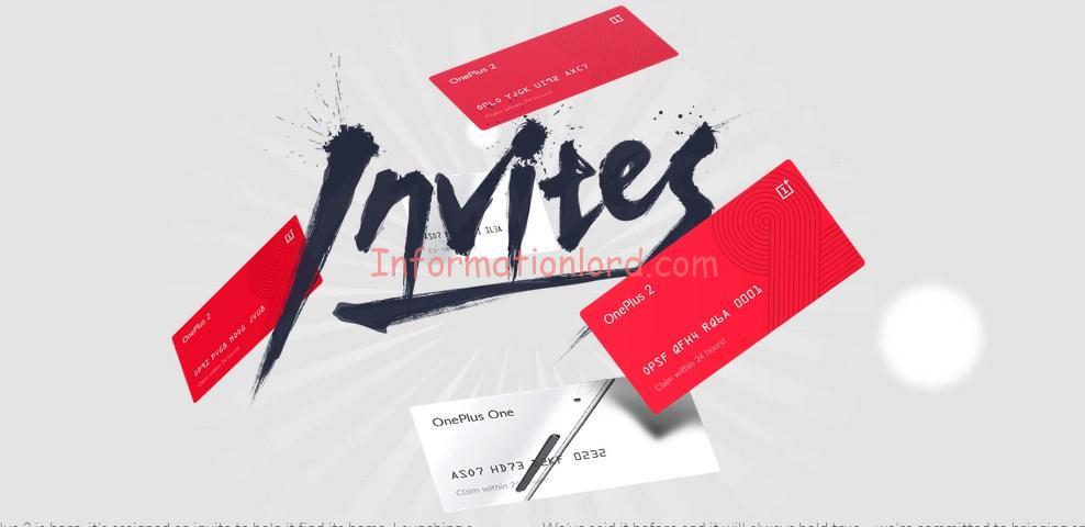 OnePlus 2 Invite card, oneplus two invites, oneplus 2 invites online, online oneplus 2 invite cards