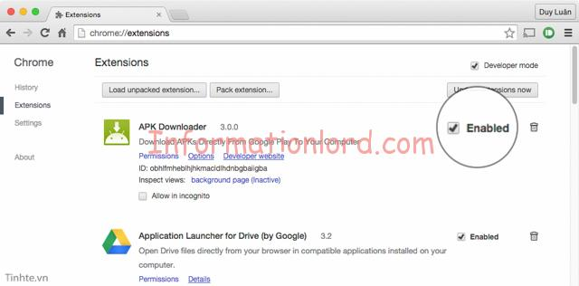 disable extensions to speed up chrome, Google chrome speed up