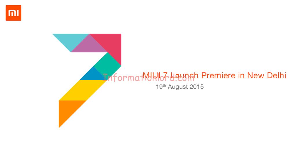 MIUI-7-India-launch, MIUI 7 launch, miui 7 india launch
