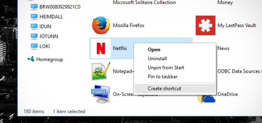 Create Shortcut of Modern Apps on windows 10, create windows 10 modern apps