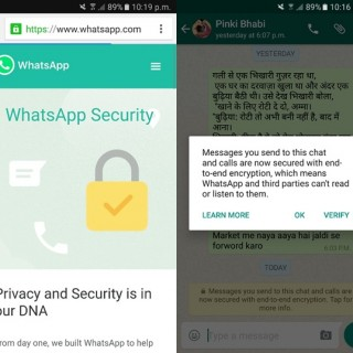 Latest WhatsApp Update with End to End Encryption
