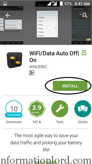Enable or Disable Data on Android Smartphone