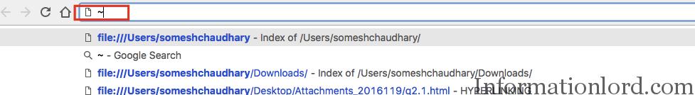 Easy File Tree on Google Chrome