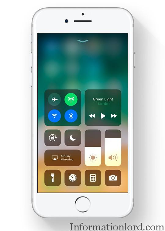 iOS 11 best features in Control Center