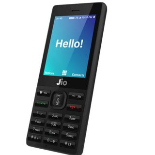 How Jio 4G Smartphone Looks
